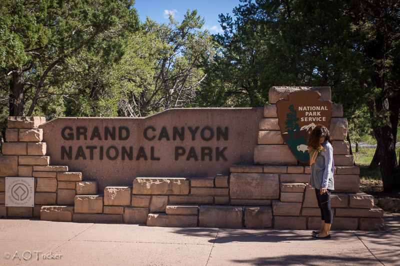 Grand Canyon Sign - Grand Canyon Post