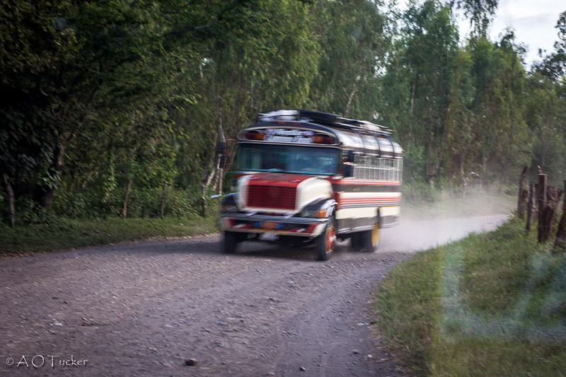 Chicken Bus In A Rush - Gringo In Nicaragua Post
