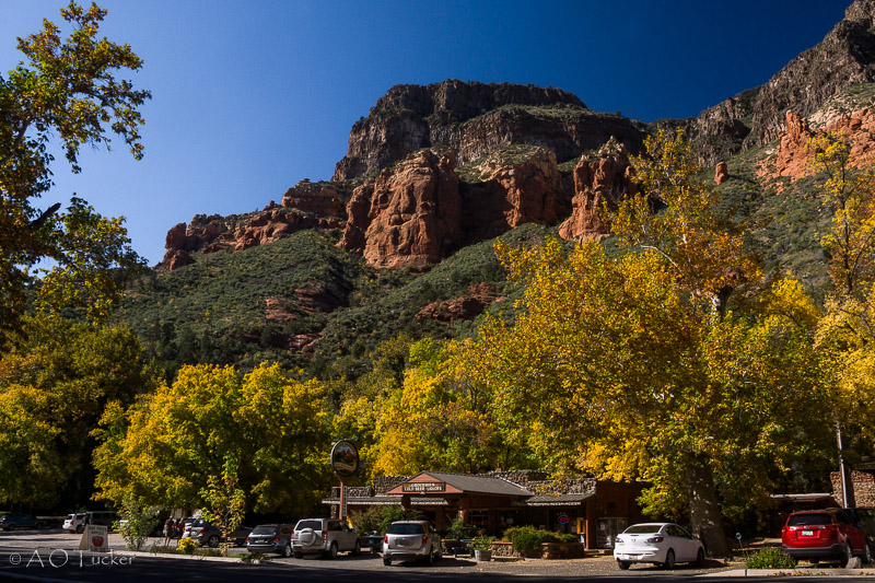 A Cold Beer Awaits - Sedona Fall Color post