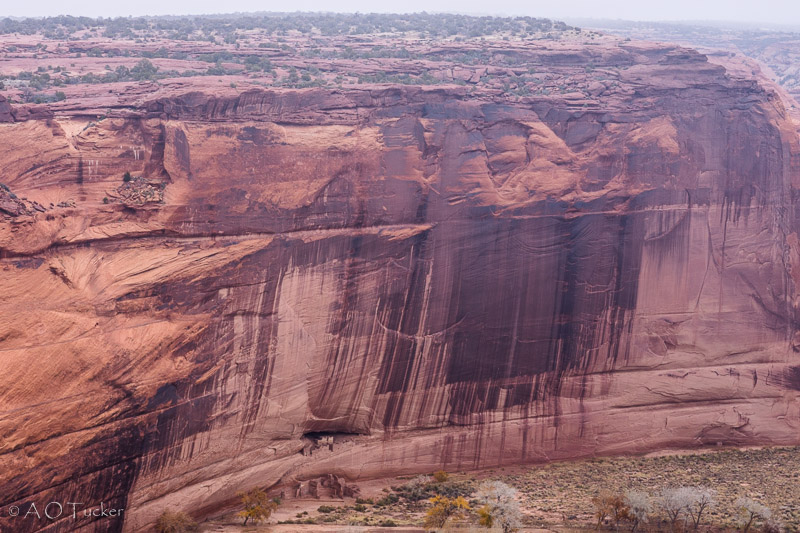 White House From Afar - Canyon De Chelly post