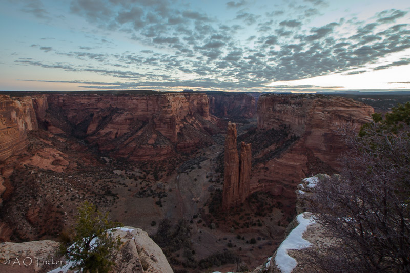 Early Light Spider Rock