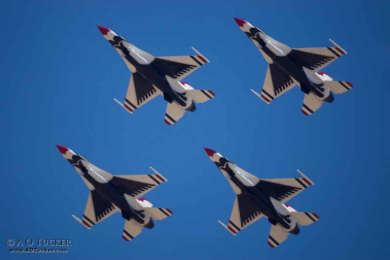 Red White & Blue Thunderbirds