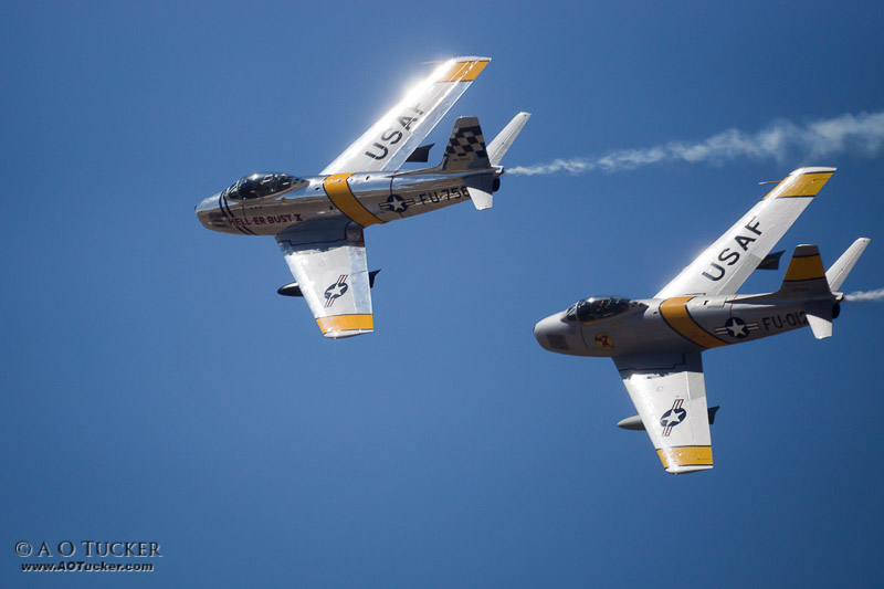 Sabre Jet Reflections