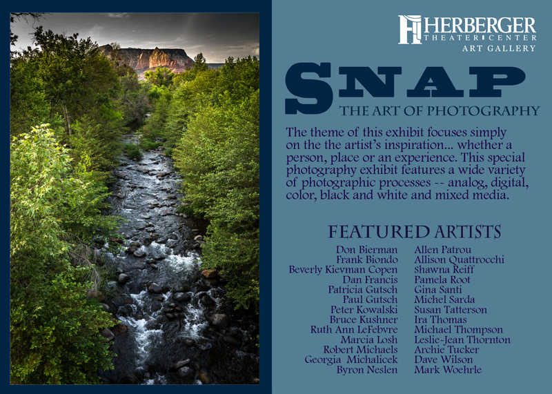 Snap - The Art Of Photography Reception Invitation - Page 1