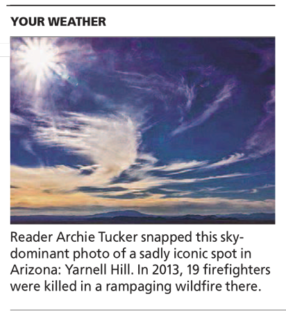 Sun And Clouds - Arizona Republic Weather Photo post