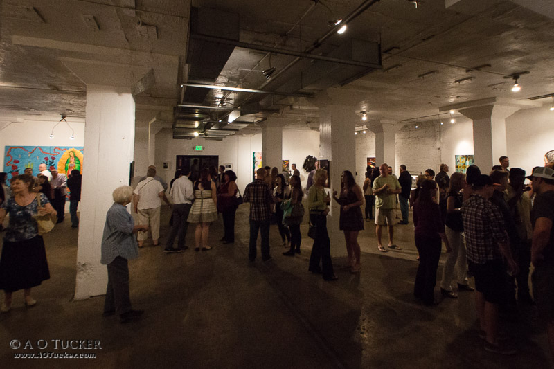 Artlink 16th Juried Exhibition Reception - Artlink 16th Annual Juried Art Exhibition Reception at The IceHouse post