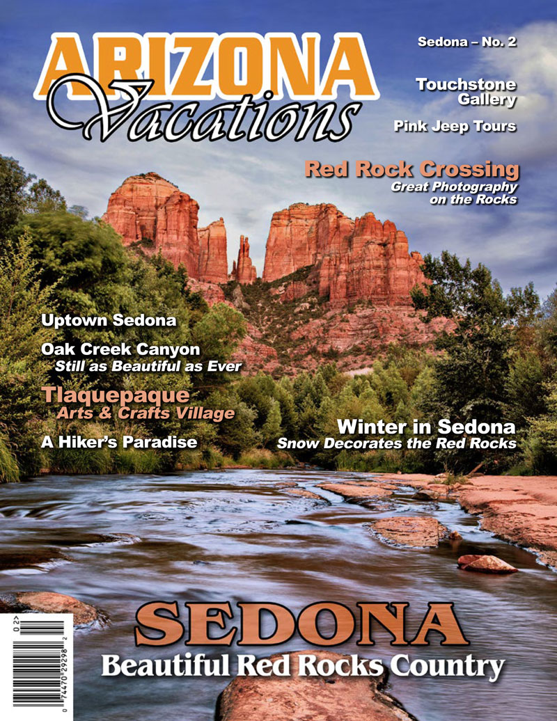 Arizona Vacations Magazine Sedona AZ post