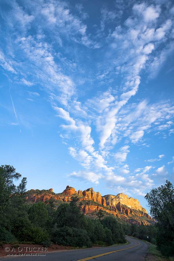 Heart Rising Over Sedona