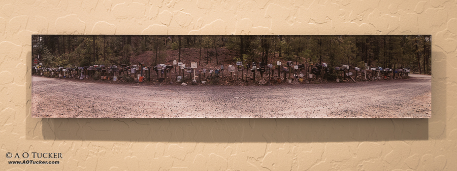 A O Tucker - Mailbox Panoramic